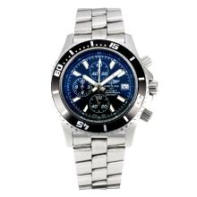 Replik Breitling Super Ocean Working Chronograph Black Bezel with Black Dial-White Needle – Attractive Breitling Super Ocean Watch for You 26110