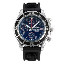 Replique Breitling Super Ocean travail Chronographe Lunette noire avec cadran noir-rouge Aiguille - Attractive Breitling Super Ocean Watch pour vous 26077