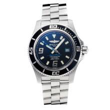 Replik Breitling Super Ocean Swiss ETA 2824 Movement Black Bezel with Black Dial-Sapphire Glass-Yellow Needle – Attractive Breitling Super Ocean Watch for You 26043