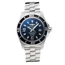Replik Breitling Super Ocean Swiss ETA 2824 Movement Black Bezel with Black Dial-Sapphire Glass-White Needle – Attractive Breitling Super Ocean Watch for You 26042