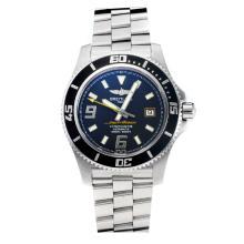 Replik Breitling Super Ocean Swiss ETA 2824 Movement Black Bezel with Black Dial-Sapphire Glass-Yellow Needle – Attractive Breitling Super Ocean Watch for You 26041