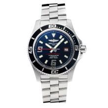 Replik Breitling Super Ocean Swiss ETA 2824 Movement Black Bezel with Black Dial-Sapphire Glass- Red Needle – Attractive Breitling Super Ocean Watch for You 26040
