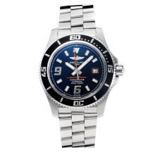 Replik Breitling Super Ocean Swiss ETA 2824 Movement Black Bezel with Black Dial-Sapphire Glass-Orange Needle – Attractive Breitling Super Ocean Watch for You 26039