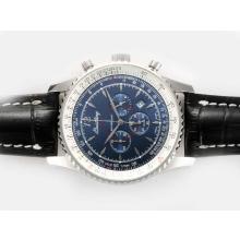 Replique Breitling Montbrillant de travail Chronographe avec cadran bleu-Nouvelle Version 46MM - Montre Breitling Montbrillant attrayant pour vous 26965