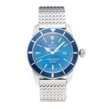 Replique Breitling Super Ocean automatique avec cadran bleu S / S - Attractive Breitling Super Ocean montre pour vous 26027