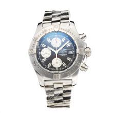 Replique Breitling Chrono Avenger Chronograph Valjoux 7750 Mouvement suisse avec cadran noir S / S-verre de saphir - Attractive Montre Breitling Chrono Avenger pour vous 26006