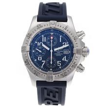 Replique Breitling Avenger Skyland Chronographe Suisse Valjoux 7750 Mouvement avec cadran bleu-AR Coating - Attractive Montre Breitling Avenger Skyland pour vous 26943