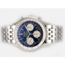 Replique Breitling Navitimer Chronographe Suisse Valjoux 7750 Mouvement avec cadran bleu - Attractive Breitling Navitimer montre pour vous 26941