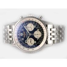 Replique Breitling Navitimer Chronograph Valjoux 7750 Swiss Dial Mouvement Noir Avec Nombre de marquage - Attractive Breitling Navitimer montre pour vous 26930