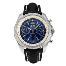Replique Breitling for Bentley 6.75 Chronographe avec grande date Swiss Valjoux 7750 Mouvement avec cadran bleu - Attractive Breitling Bentley Regarder pour vous 26920