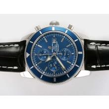 Replique Breitling Superocean Heritage Chrono suisse Valjoux 7750 Mouvement avec cadran bleu-28, 800bph - Montre Breitling Super Ocean attrayant pour vous 26918
