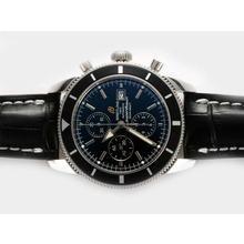 Replique Breitling Superocean Heritage Chrono suisse Valjoux 7750 Mouvement avec cadran noir-28800bph - Attractive Breitling Super Ocean Watch pour vous 26917