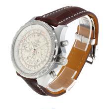 Replique Breitling for Bentley Motors travail Chronographe avec cadran blanc - Attractive Breitling Bentley Regarder pour vous 26911