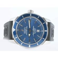 Replique Breitling Super Ocean Patrimoine suisse ETA 2824 Mouvement Cadran Bleu Avec Rubber Strap-ULTIMATE Version - Attractive Breitling Super Ocean Watch pour vous 26893