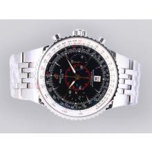 Replique Breitling Montbrillant Legende chronographe suisse Valjoux 7750 Mouvement avec cadran noir - Attractive Breitling Montbrillant Montre pour vous 26886