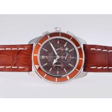 Replik Breitling Super Ocean Working Chronograph with Brown Dial – Attractive Breitling Super Ocean Watch for You 26879