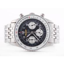 Replik Breitling Navitimer Working Chronograph Black Dial-Lady Size – Attractive Breitling Navitimer Watch for You 26861