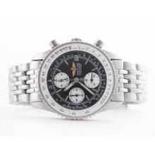 Replik Breitling Navitimer Working Chronograph Black Dial with Stick Marking-Lady Size – Attractive Breitling Navitimer Watch for You 26858