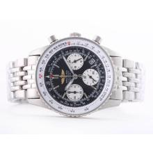 Replik Breitling Navitimer Working Chronograph Black Dial with Stick Marking-Lady Size – Attractive Breitling Navitimer Watch for You 26857