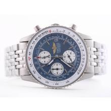 Replique Breitling Navitimer Chronograph Blue Dial de travail avec le bâton de marquage-Taille-Dame - Attractive Breitling Navitimer montre pour vous 26856
