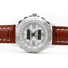 Replique Breitling Emergency avec cadran blanc-Digital Display - Montre Breitling Emergency attrayant pour vous 26832