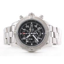 Replique Breitling Avenger Skyland travail Chronographe avec cadran noir - Arabe Marquage S / S - Montre Breitling Avenger Skyland attrayant pour vous 26824