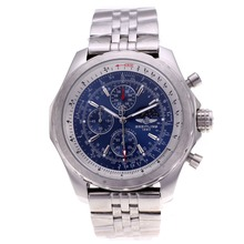 Replique Breitling for Bentley T Moonphase Chronograph Blue Dial Travailler avec S / S - Attractive Breitling Bentley Regarder pour vous 26706