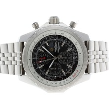 Replique Breitling for Bentley T Moonphase Chronograph de travail avec cadran noir S / S - Attractive Breitling Bentley Regarder pour vous 26703