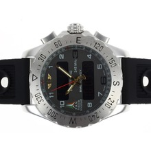 Replik Breitling Emergency Digital Player with Gray Dial-Rubber Strap – Attractive Breitling Emergency Watch for You 26686