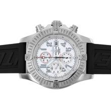 Replique Breitling Super Avenger Chronograph Valjoux 7750 Mouvement suisse avec cadran blanc-49mm Version - Attractive Montre Breitling Super Avenger pour vous 26650