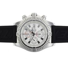 Replique Breitling Super Avenger Chronograph Valjoux 7750 Mouvement suisse avec cadran blanc-49mm Version - Attractive Montre Breitling Super Avenger pour vous 26645