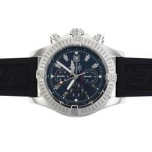 Replique Breitling Super Avenger Chronograph Valjoux 7750 Mouvement suisse avec cadran noir-49mm Version - Attractive Montre Breitling Super Avenger pour vous 26644