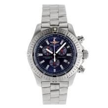 Replique Breitling Colt travail Chronographe avec cadran bleu S / S - Attractive Breitling Colt montre pour vous 26585