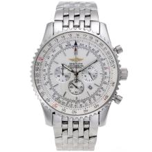 Replik Breitling Navitimer Working Chronograph with White Dial S/S-46mm Version – Attractive Breitling Navitimer Watch for You 26498