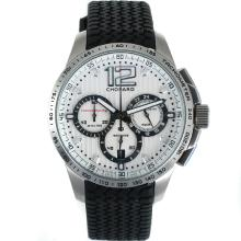 Replique Chopard Gran Turismo XL Miglia chronographe de travail avec cadran blanc-Taille-Dame - Attractive Chopard Gran Turismo XL Montre pour vous 32900