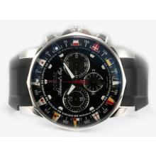 Replique Corum Admiral Cup Chronograph Valjoux 7750 Mouvement suisse AR Coating avec cadran noir - Regarder la Coupe Corum Admiral attrayant pour vous 37368