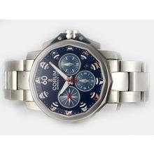 Replique Corum Admiral Chronographe Challenge Cup suisse Valjoux 7750 Mouvement avec cadran bleu - Regarder la Coupe Corum Admiral attrayant pour vous 37362