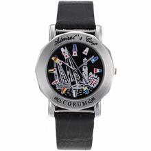 Replique Corum Admiral Cup Avec Voile Dial-bracelet en cuir noir - Regarder la Coupe Corum Admiral attrayant pour vous 37319