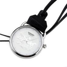 Replique Hermes Arceau Pocket Watch Promenade de Longchamp avec cadran blanc 36657