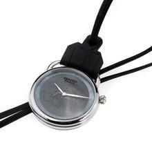 Replique Hermes Arceau Pocket Watch Promenade de Longchamp avec cadran noir 36655
