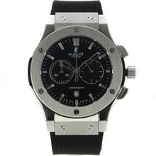 Replique Hublot Big Bang King travail Chronographe avec cadran noir-Bracelet Caoutchouc - Attractive Hublot Big Bang King montre pour vous 30025