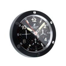 Replique Hublot Big Bang Horloge murale PVD affaire avec cadran noir - Attractive Hublot Big Bang Montre pour vous 29679