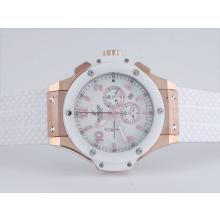 Replique Hublot Big Bang Tuiga 1909-Chronographe en or rose avec lunette en céramique-même Structure En 7750 Version-High Qua - Attractive Hublot Big Bang Montre pour vous 30773