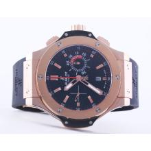 Replique Hublot Big Bang chronographe suisse Valjoux 7750 Mouvement or rose Case-48mm - Attractive Hublot Big Bang Montre pour vous 30768