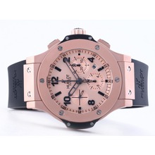Replique Hublot Big Bang chronographe en or rose mat avec Swiss Valjoux 7750 Mouvement - Attractive Hublot Big Bang Montre pour vous 30708