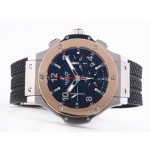 Replique Hublot Big Bang chronographe suisse Valjoux 7750 Mouvement-18K lunette en or rose - Attractive Hublot Big Bang Montre pour vous 30707