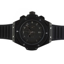 Replik Hublot Big Bang King Working Chronograph PVD Bezel with Black Dial-48MM Version – Attractive Hublot Big Bang King Watch for You 30586