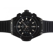 Replik Hublot Big Bang King Working Chronograph PVD Bezel with Black Dial-48MM Version – Attractive Hublot Big Bang King Watch for You 30585