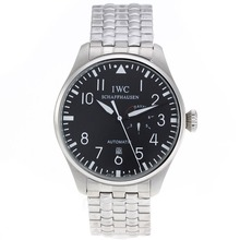 Replik IWC Big Pilot Automatic with Black Dial S/S – Attractive IWC Pilot Watch for You 32305