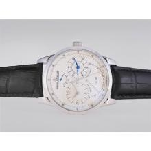 Replik Jaeger-Lecoultre Duometre Working Power Reserve Automatic with White Dial-AR Coating – Attractive Jaeger-Lecoultre Duometre Watch for You 34048